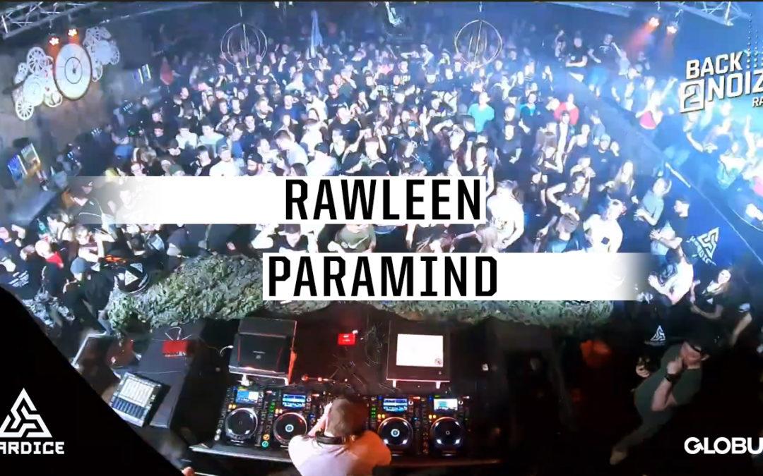 Paramind & Rawleen Live au Globull lors de Lockdown Angerfist 2020